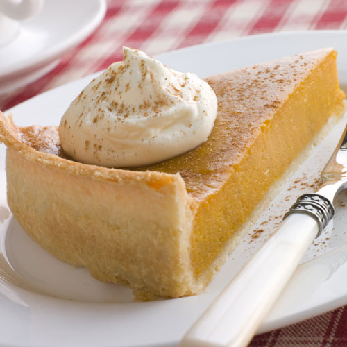 Desserts answer: PUMPKIN PIE