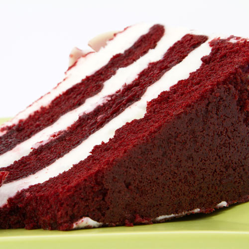 Desserts answer: RED VELVET CAKE
