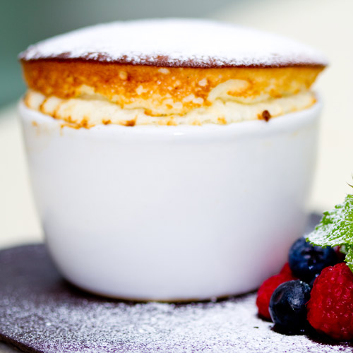 Desserts answer: SOUFFLE