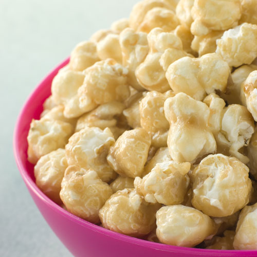 Desserts answer: TOFFEE POPCORN