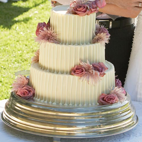 Desserts answer: WEDDING CAKE