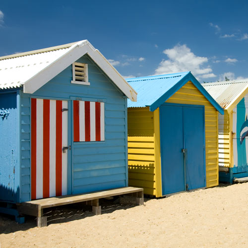 Dwellings answer: BEACH HUT