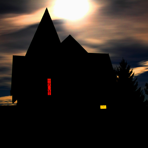 Dwellings answer: HAUNTED HOUSE