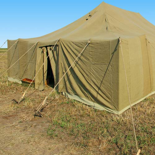 Dwellings answer: MILITARY TENT