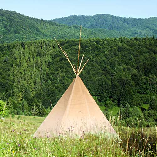 Dwellings answer: TEEPEE