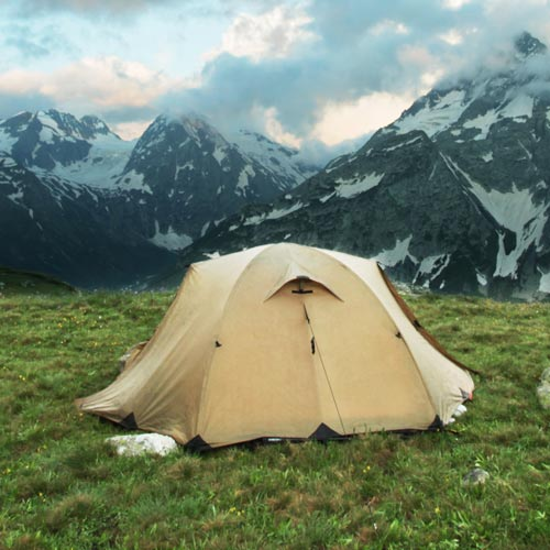 Dwellings answer: TENT