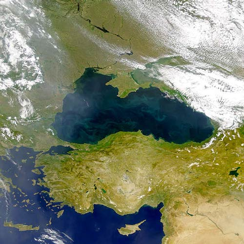 Earth from Above answer: BLACK SEA