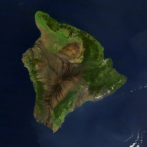 Earth from Above answer: HAWAII