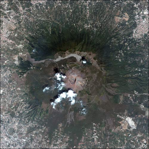 Earth from Above answer: VESUVIUS