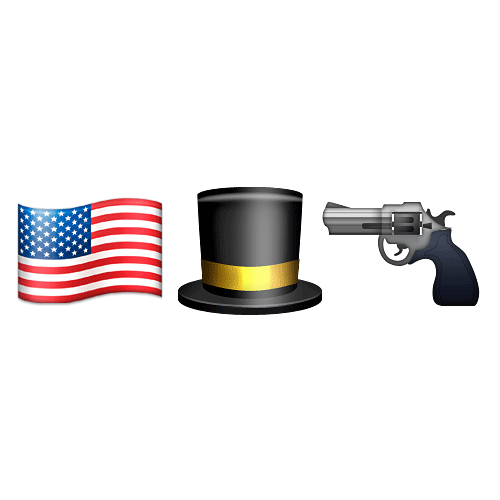 Emoji 2 answer: ABRAHAM LINCOLN