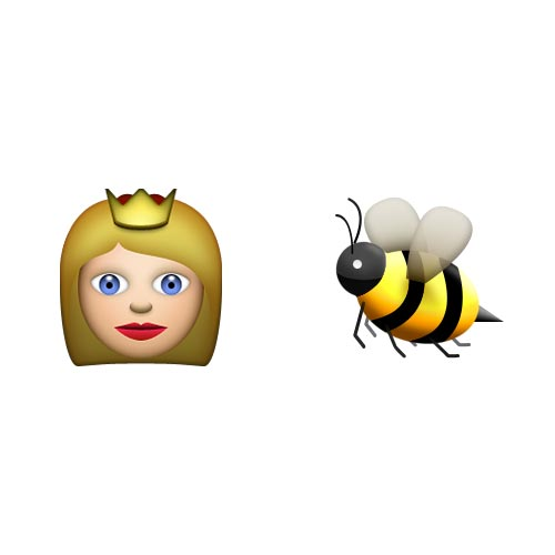 Emoji 2 answer: QUEEN BEE