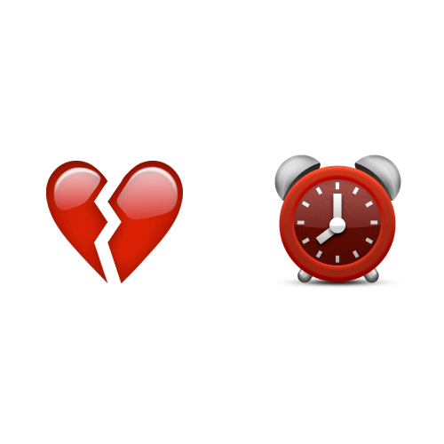 Emoji 2 answer: BREAK TIME