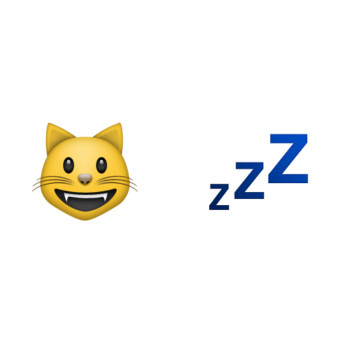 Emoji 2 answer: CAT NAP