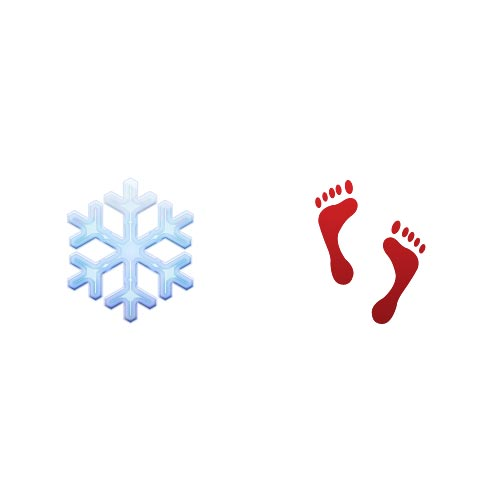 Emoji 2 answer: COLD FEET