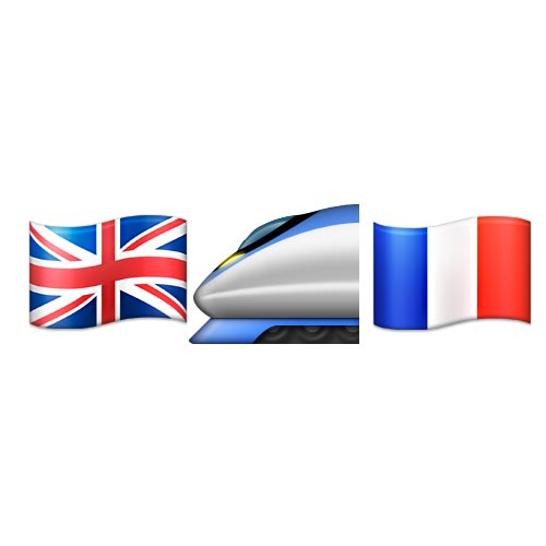 Emoji 2 answer: EUROSTAR