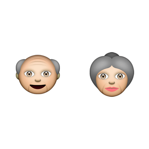 Emoji 2 answer: GRANDPARENTS