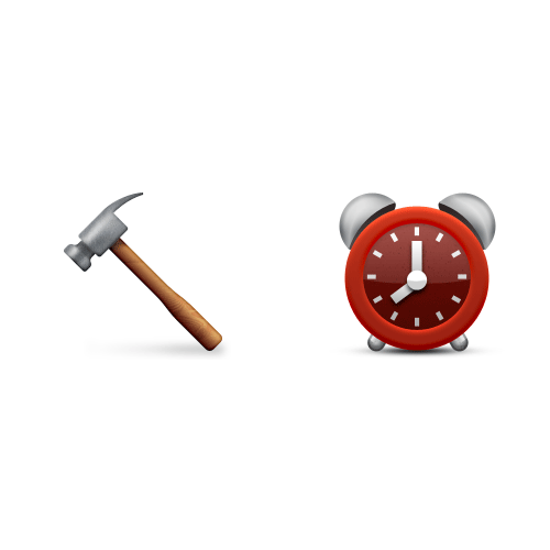 Emoji 2 answer: HAMMERTIME