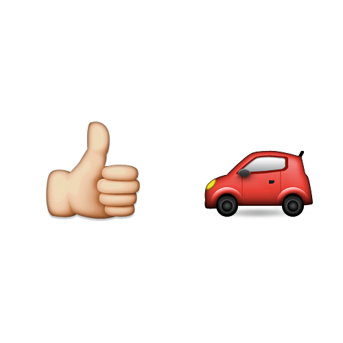 Emoji 2 answer: HITCHHIKE