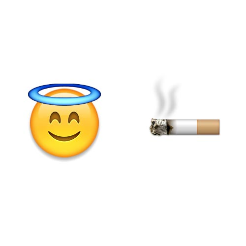 Emoji 2 answer: HOLY SMOKE