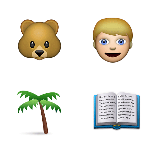 Emoji 2 answer: JUNGLE BOOK
