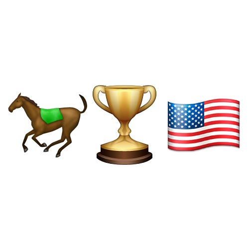 Emoji 2 answer: KENTUCKY DERBY