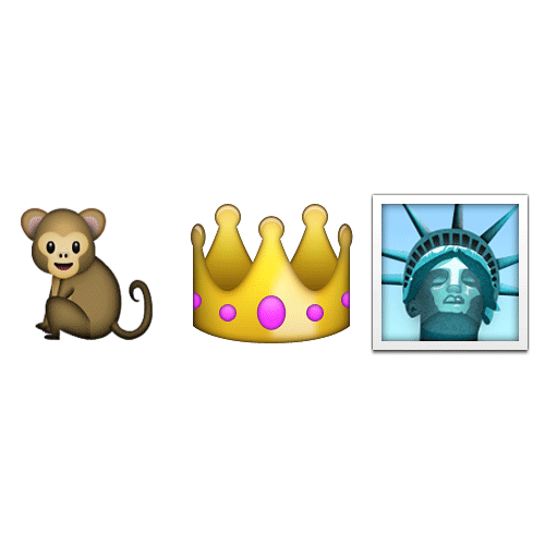 Emoji 2 answer: KING KONG