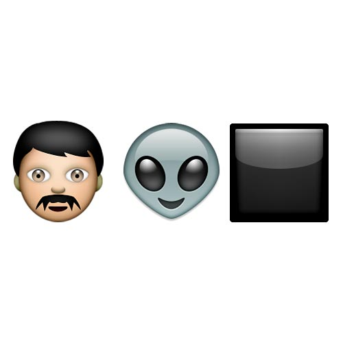 Emoji 2 answer: MEN IN BLACK