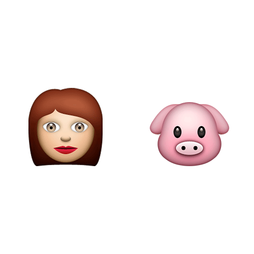 Emoji 2 answer: MISS PIGGY