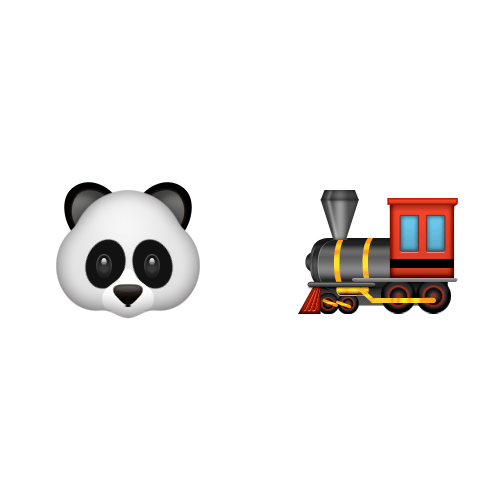 Emoji 2 answer: PANDA EXPRESS
