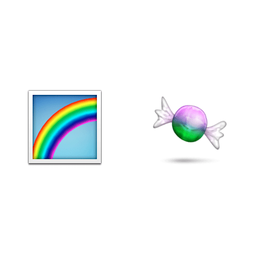 Emoji 2 answer: SKITTLES