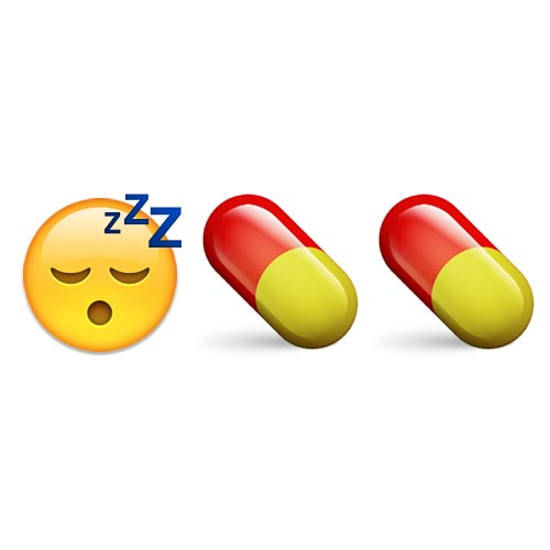 Emoji 2 answer: SLEEPING PILLS