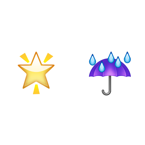 Emoji 2 answer: STAR SHOWER