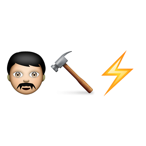 Emoji 2 answer: THOR