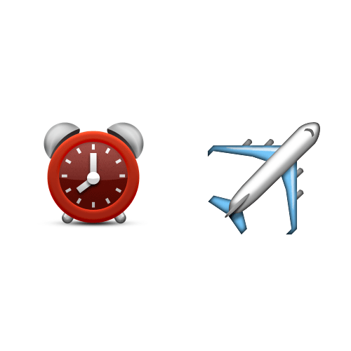 Emoji 2 answer: TIME FLIES