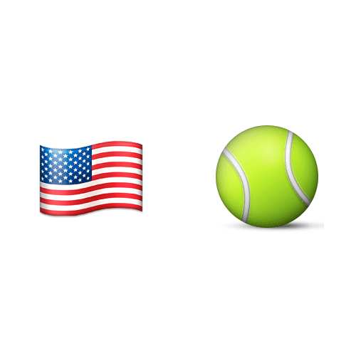 Emoji 2 answer: US OPEN
