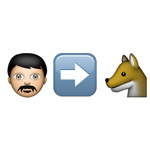 Emoji 2 answer: WEREWOLF