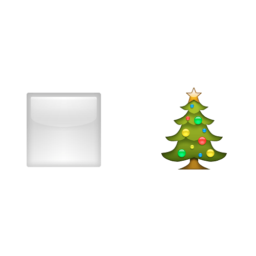 Emoji 2 answer: WHITE CHRISTMAS