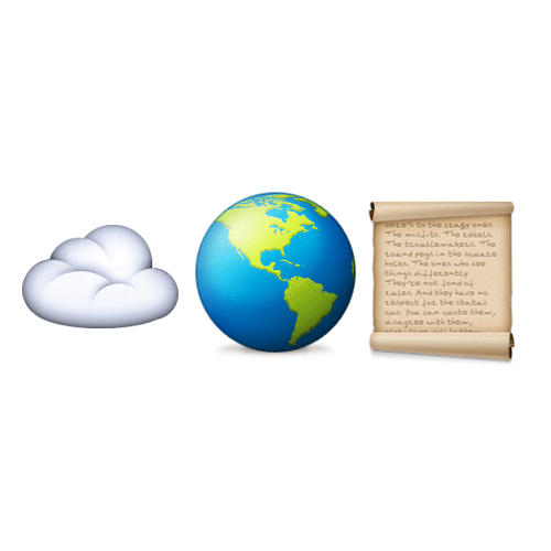 Emoji 2 answer: CLOUD ATLAS