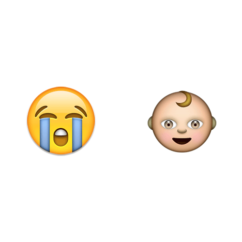 Emoji Quiz 3 answer: CRY BABY