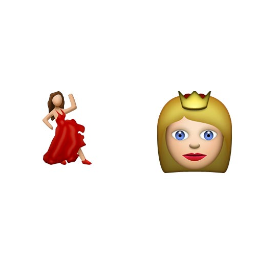 Emoji Quiz 3 answer: DANCING QUEEN