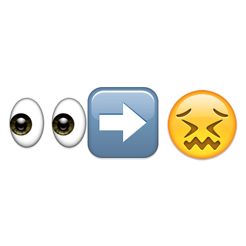 Emoji Quiz 3 answer: EYES WIDE SHUT