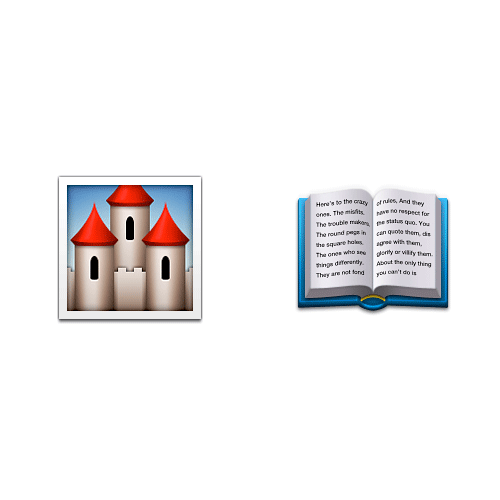 Emoji Quiz 3 answer: FAIRY TALE