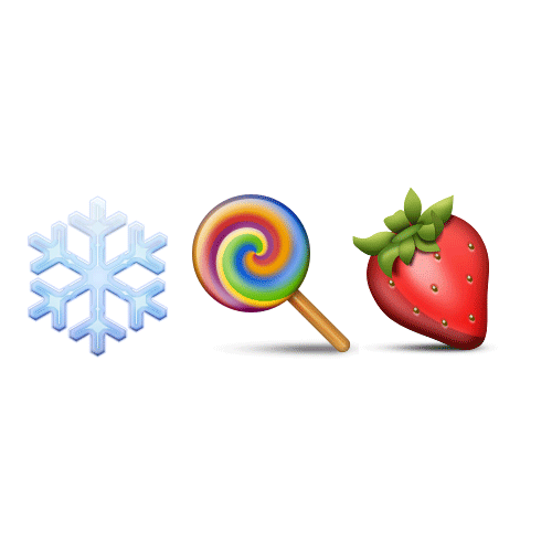 Emoji Quiz 3 answer: ICE LOLLY