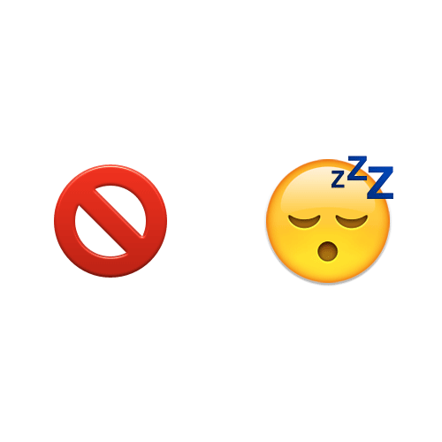 Emoji Quiz 3 answer: INSOMNIA