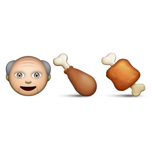 Emoji Quiz 3 answer: KFC