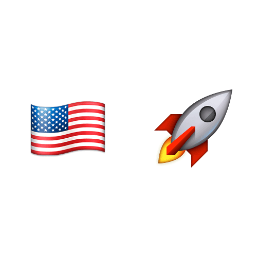 Emoji Quiz 3 answer: NASA