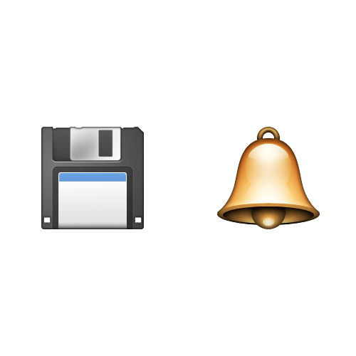 Emoji Quiz 3 answer: SAVED BY THE BELL