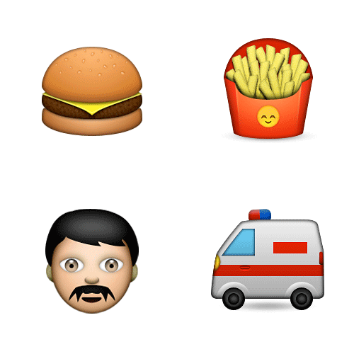 Emoji Quiz 3 answer: SUPERSIZE ME