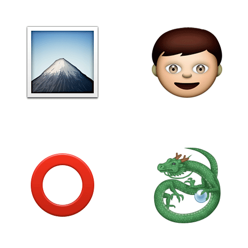 Emoji Quiz 3 answer: THE HOBBIT