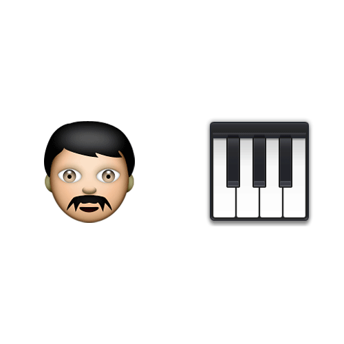Emoji Quiz 3 answer: THE PIANIST
